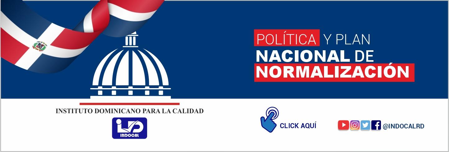 Política y Plan de Normalización